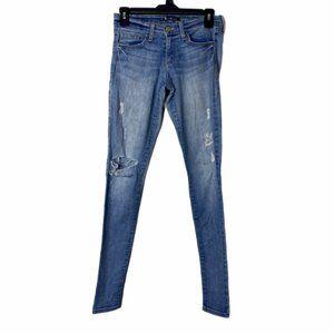 Flying Monkey Womens Blue Skinny Jeans 26